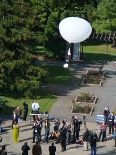 Ozonesonde launch